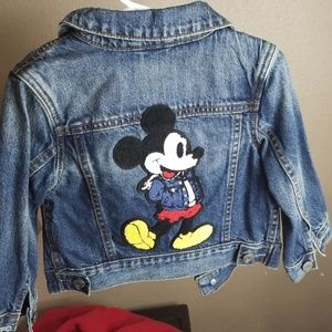 Baby Gap Mickey Jean jacket limited edition